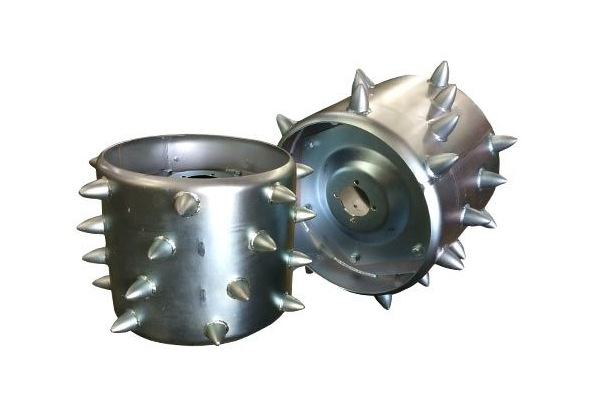BCS Spiked Wheels for sale at Evergreen Tractor, Louisiana