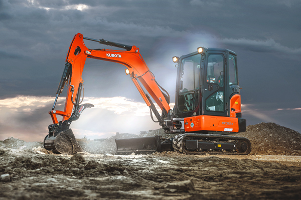Kubota | Construction Equipment | Compact Excavators for sale at Evergreen Tractor, Louisiana