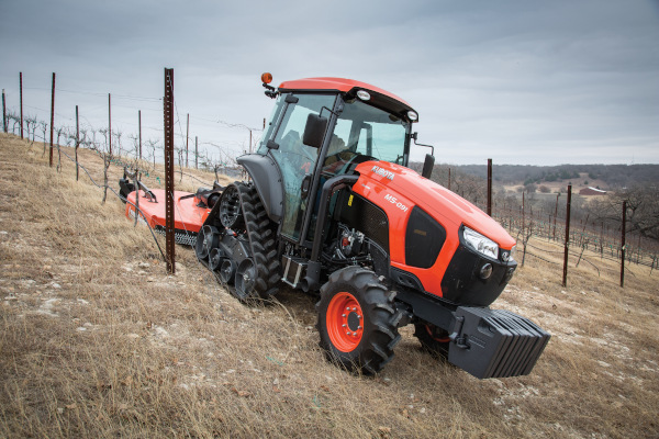 Kubota | M Narrow Series | Model M5N-091 Power Krawler Narrow Cab for sale at Evergreen Tractor, Louisiana
