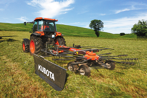 Kubota | Farm Implements | Rakes for sale at Evergreen Tractor, Louisiana
