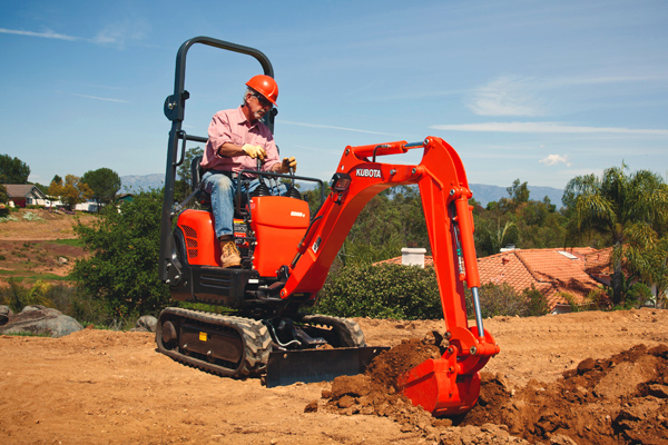 Kubota K008-3 for sale at Evergreen Tractor, Lousisana