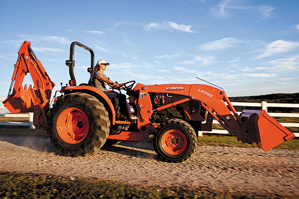 Kubota L4701 for sale at Evergreen Tractor, Louisiana