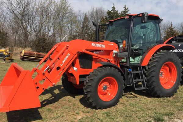 Kubota M6-111 for sale at Evergreen Tractor, Louisiana