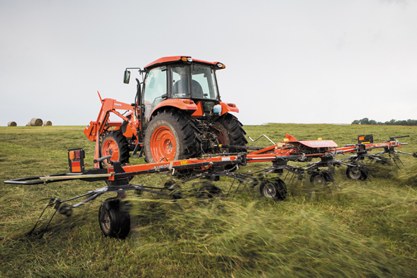 Kubota | TE Series Rotary Tedders | Model TE6583T for sale at Evergreen Tractor, Lousisana