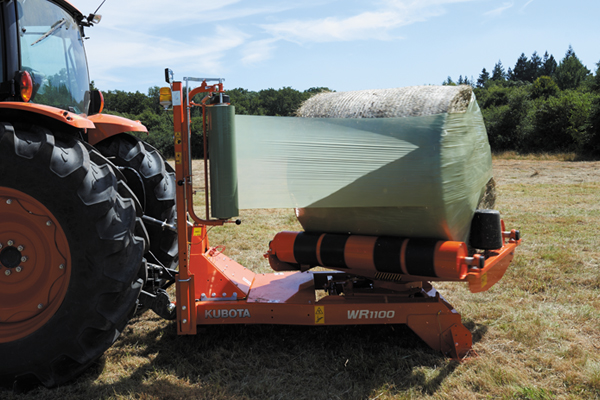 Kubota | WR Series Bale Wrappers | Model WR1100 for sale at Evergreen Tractor, Louisiana