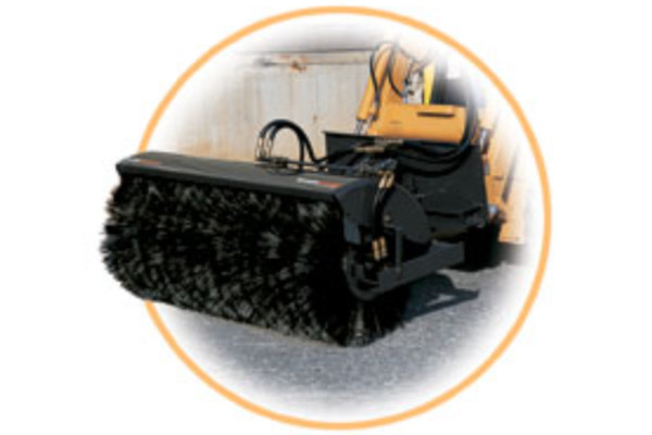 Woods | Skid Steer Attachments | Angle Brooms for sale at Evergreen Tractor