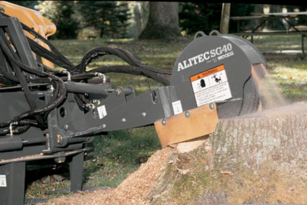 Woods | Skid Steer Attachments | Stump Grinders for sale at Evergreen Tractor