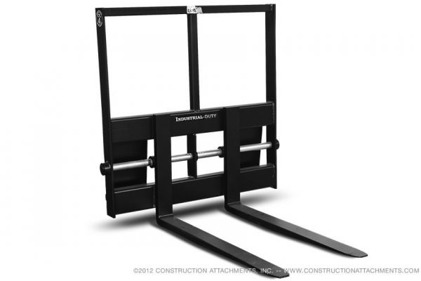 Construction Attachments Inc. | Pallet Fork Attachments | Model Industrial Pallet Forks for sale at Evergreen Tractor