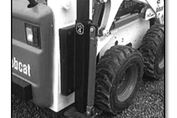 Construction Attachments Inc. Xtreme Duty Rear Stabilizer for sale at Evergreen Tractor, Louisiana
