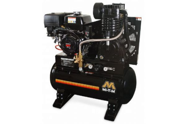 Mi-T-M | Stationary Air Compressors | Model 30-Gallon Two Stage Gasoline - ABS-13H-30H for sale at Evergreen Tractor, Louisiana
