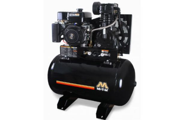 Mi-T-M | Stationary Air Compressors | Model 80-Gallon Two Stage Gasoline - ABS-13H-80H for sale at Evergreen Tractor, Louisiana