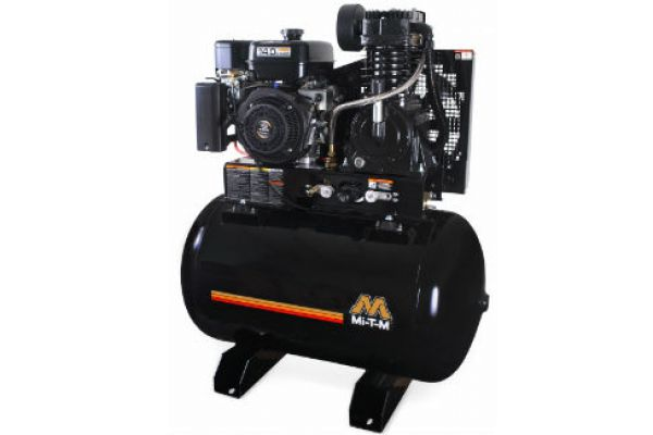 Mi-T-M | Stationary Air Compressors | Model 80-Gallon Two Stage Gasoline - ABS-14M-80H for sale at Evergreen Tractor, Louisiana