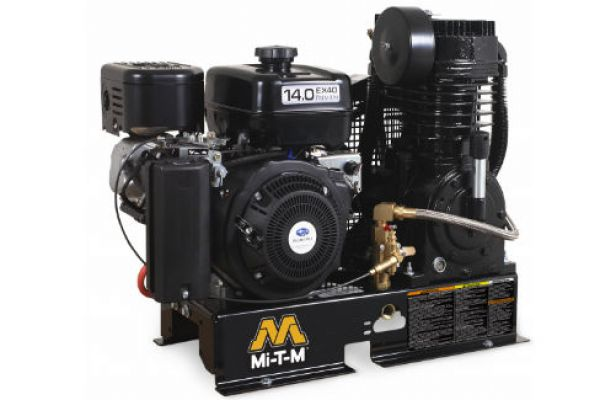 Mi-T-M | Stationary Air Compressors | Model Base Mount Two Stage Gasoline - ABS-14M-B for sale at Evergreen Tractor, Louisiana