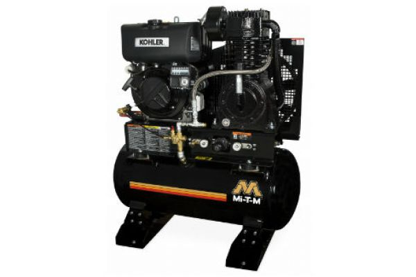 Mi-T-M | Stationary Air Compressors | Model 30-Gallon Two Stage Diesel - ABS-9KD-30H for sale at Evergreen Tractor, Louisiana