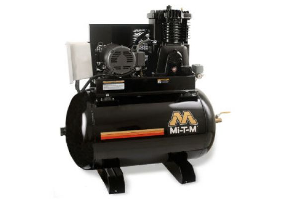 Mi-T-M | Stationary Air Compressors | Model 80-Gallon Two Stage Electric - ACS-23105-80H for sale at Evergreen Tractor, Louisiana