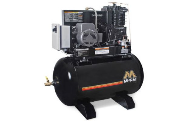 Mi-T-M | Stationary Air Compressors | Model 80-Gallon Two Stage Electric - ACS-23105-80HM for sale at Evergreen Tractor, Louisiana
