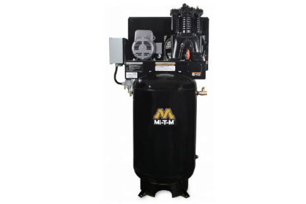 Mi-T-M | Stationary Air Compressors | Model 80-Gallon Two Stage Electric - ACS-23105-80V for sale at Evergreen Tractor, Louisiana