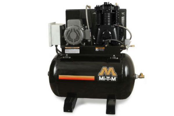 Mi-T-M | Stationary Air Compressors | Model 80-Gallon Two Stage Electric - ACS-23175-80HM for sale at Evergreen Tractor, Louisiana