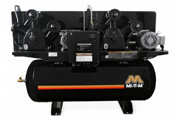 Mi-T-M | Stationary Air Compressors | Model 120-Gallon Two Stage Electric - ADD-23110-120HM for sale at Evergreen Tractor, Louisiana