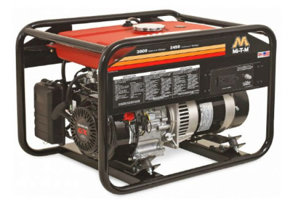 Mi-T-M | Gasoline Generators | Model GEN-3000-1MH0 for sale at Evergreen Tractor, Louisiana
