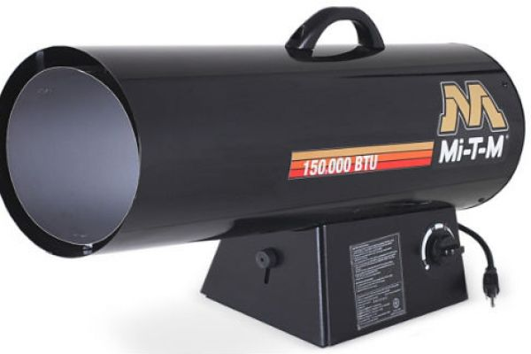 Mi-T-M | Portable Propane Heaters | Model Propane Forced Air - MH-0150-LM10 for sale at Evergreen Tractor, Louisiana
