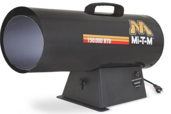 Mi-T-M | Portable Propane Heaters | Model Propane Forced Air - MH-0150-LMT0 for sale at Evergreen Tractor, Louisiana