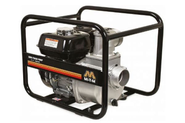 Mi-T-M | Semi-Trash Water Pumps | Model Semi-Trash Pump 3-Inch - WTP-S03-1MGH for sale at Evergreen Tractor, Lousisana