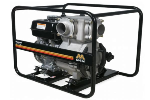 Mi-T-M | Semi-Trash Water Pumps | Model Trash Pump 3-Inch - WTP-T03-0MGH for sale at Evergreen Tractor, Lousisana
