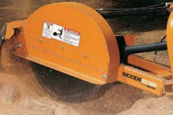 Woods | Stump Grinders | Model SG100 for sale at Evergreen Tractor, Louisiana