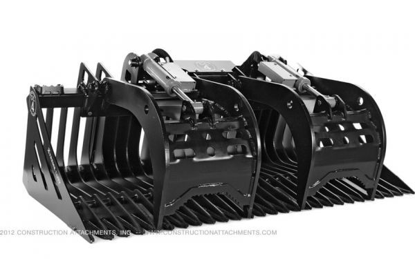 Construction Attachments Inc. Skeleton Grapple Bucket Xtreme Duty Attachment for sale at Evergreen Tractor, Louisiana