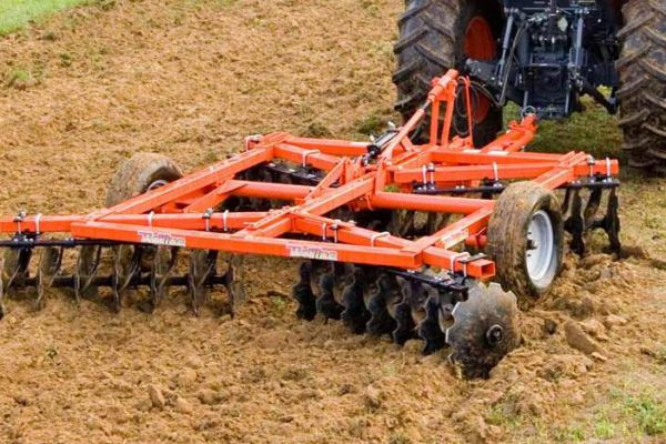 Tufline TW5 Series Tandem Wheel Disc Harrows for sale at Evergreen Tractor, Lousisana